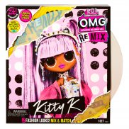 L.O.L. SURPRISE - Lalka O.M.G. REMIX Kitty K OMG LOL 567240