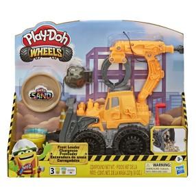 Play-Doh Wheels - Ciastolina Spychacz koparko-ładowarka E9226