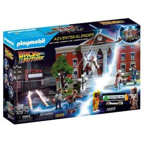 Playmobil - Kalendarz adwentowy - Powrót do przyszłości - Back to the Future 70574