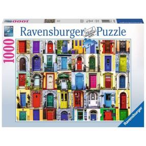 Ravensburger - Puzzle Drzwi do Świata 1000 elem. 195244