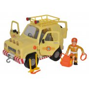 Simba - Strażak Sam Jeep ratunkowy 4x4 z figurką 9251088