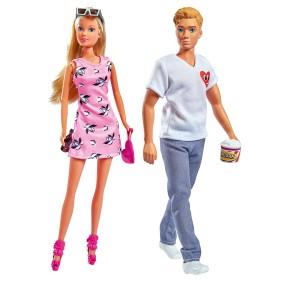 Simba Steffi LOVE - Lalka Steffi i Kevin na randce w kinie 5733435