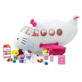 Hello Kitty - Zestaw Samolot Odrzutowiec + 3 Figurki 3248000
