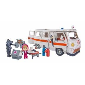 Simba Masza i Niedźwiedź - Zestaw ambulans 9309863