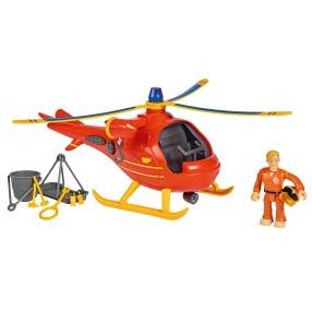 Simba - Strażak Sam Helikopter ratowniczy Wallaby z figurką Światło Dźwięk 9251087