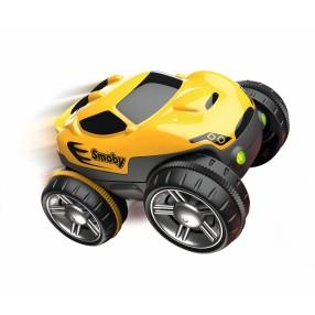 Smoby Flextreme - Samochodzik ze światłem Żółty 180903 01