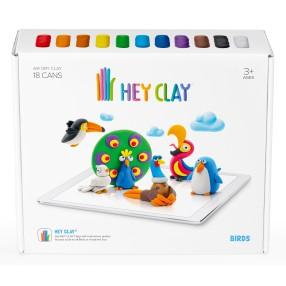 Hey Clay - Masa plastyczna Ptaki HCLSE003