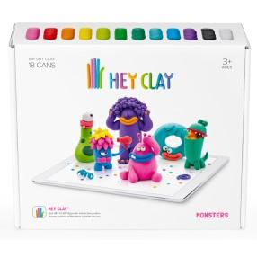Hey Clay - Masa plastyczna Potwory HCLSE004