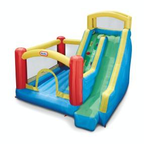 Little Tikes - Dmuchany Plac zabaw ze zjeżdżalnią Trampolina Giant Slide Bouncer 173400
