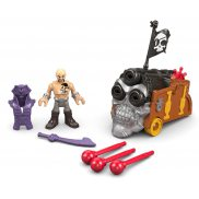 Fisher-Price Imaginext - Zestaw Piraci Figurka Davey Jones i Potrójna armata DHH74