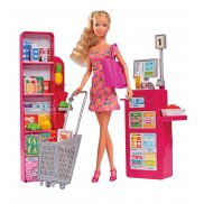 Simba Steffi LOVE - Lalka Steffi w supermarkecie 5733449