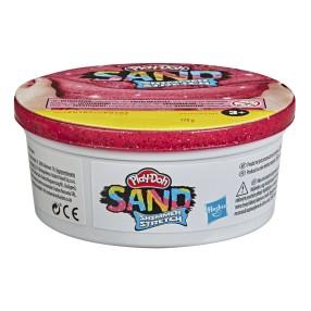 Play-Doh Sand - Piasek Brokatowy Tuba pojedyncza 170g Czerwona F0107