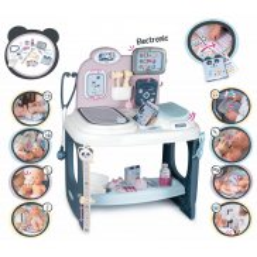Smoby Baby Care - Elektroniczne Centrum opieki dla lalek 240302