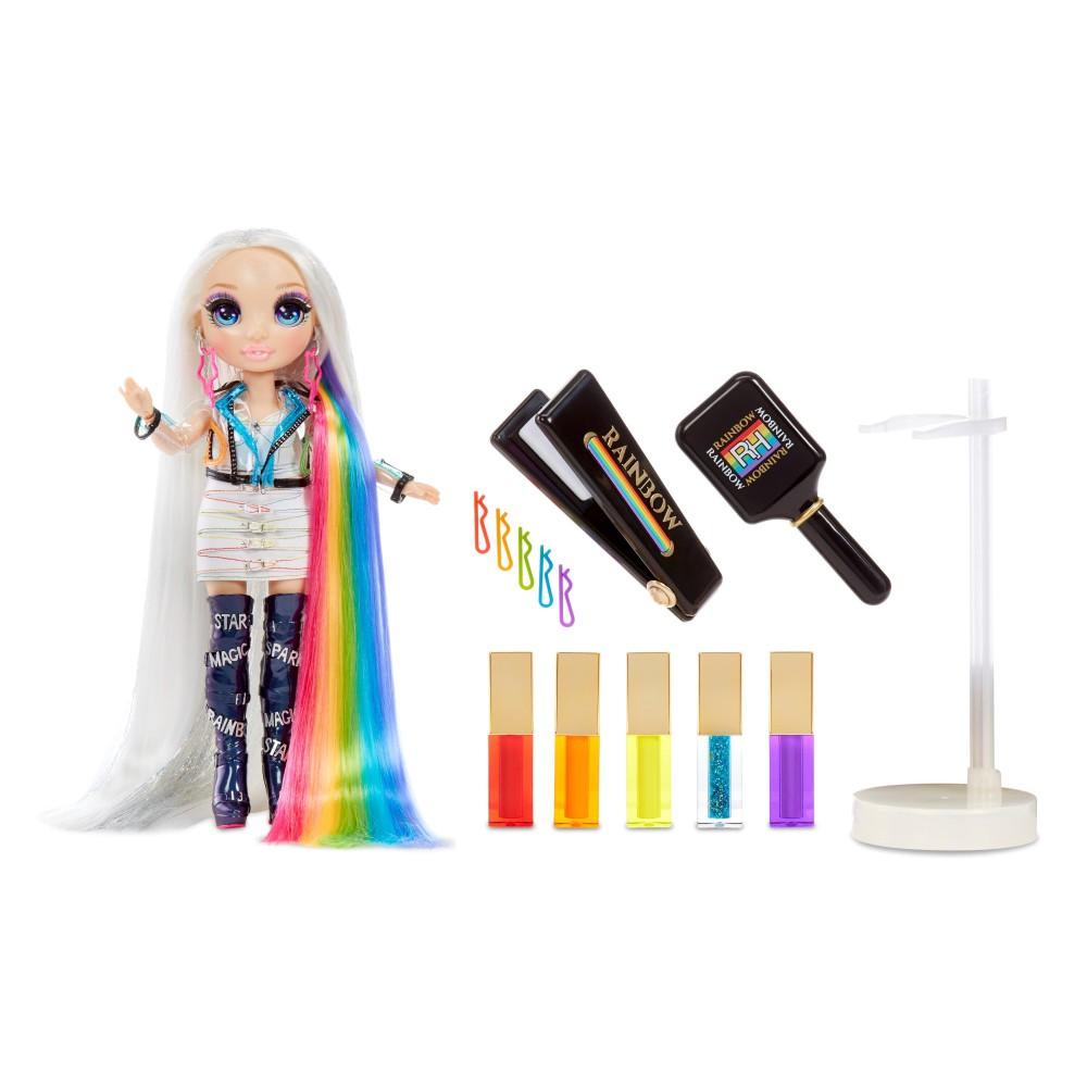 Rainbow High - Salon Fryzjerski Hair Studio i lalka Amaya Raine 569329
