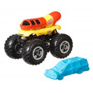 Hot Wheels Monster Trucks - Metalowy pojazd Oscar Mayer GJD82