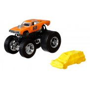 Hot Wheels Monster Trucks - Metalowy pojazd Dodge Charger R/T GJF48