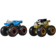 Hot Wheels Monster Trucks - Metalowe Pojazdy Dwupak Bone Shaker vs Rodger Dodger GLM91