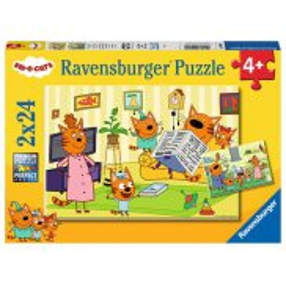 Ravensburger - Puzzle Kot-O-Ciaki 2x24 elem. 050802
