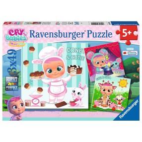 Ravensburger - Puzzle Cry Babies Magic Tears 3x49 elem. 051045