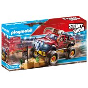 Playmobil - Pokaz kaskaderski: Monster Truck Rogacz 70549