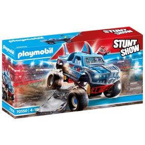 Playmobil - Pokaz kaskaderski: Monster Truck Rekin 70550