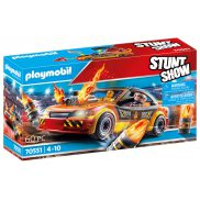 Playmobil - Pokaz kaskaderski: Samochód kaskaderski 70551