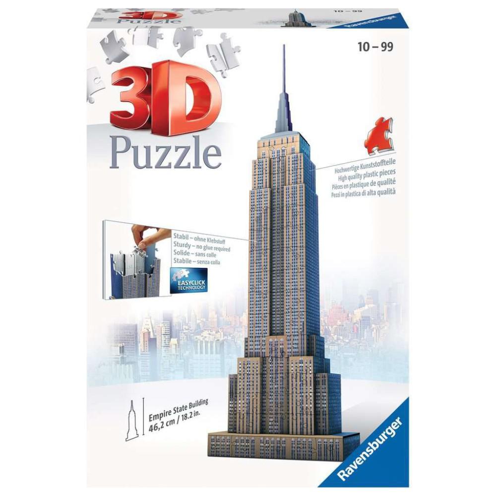 Ravensburger - Puzzle 3D Empire State Building 125531