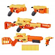 Hasbro Nerf Alpha Strike - Ultimate Mission Pack Wyrzutnie Stinger SD-1, Fang QS-4, Cobra RC-6, Wolf LR-1 i Lynx SD-1 E8339