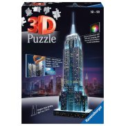 Ravensburger - Puzzle 3D Empire State Building LED Night Edition 125661