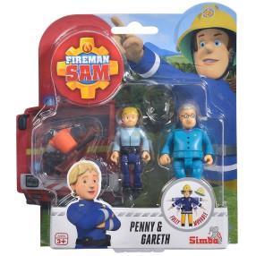 Simba - Strażak Sam 2 Figurki z akcesoriami Penny i Gareth 9251026 E