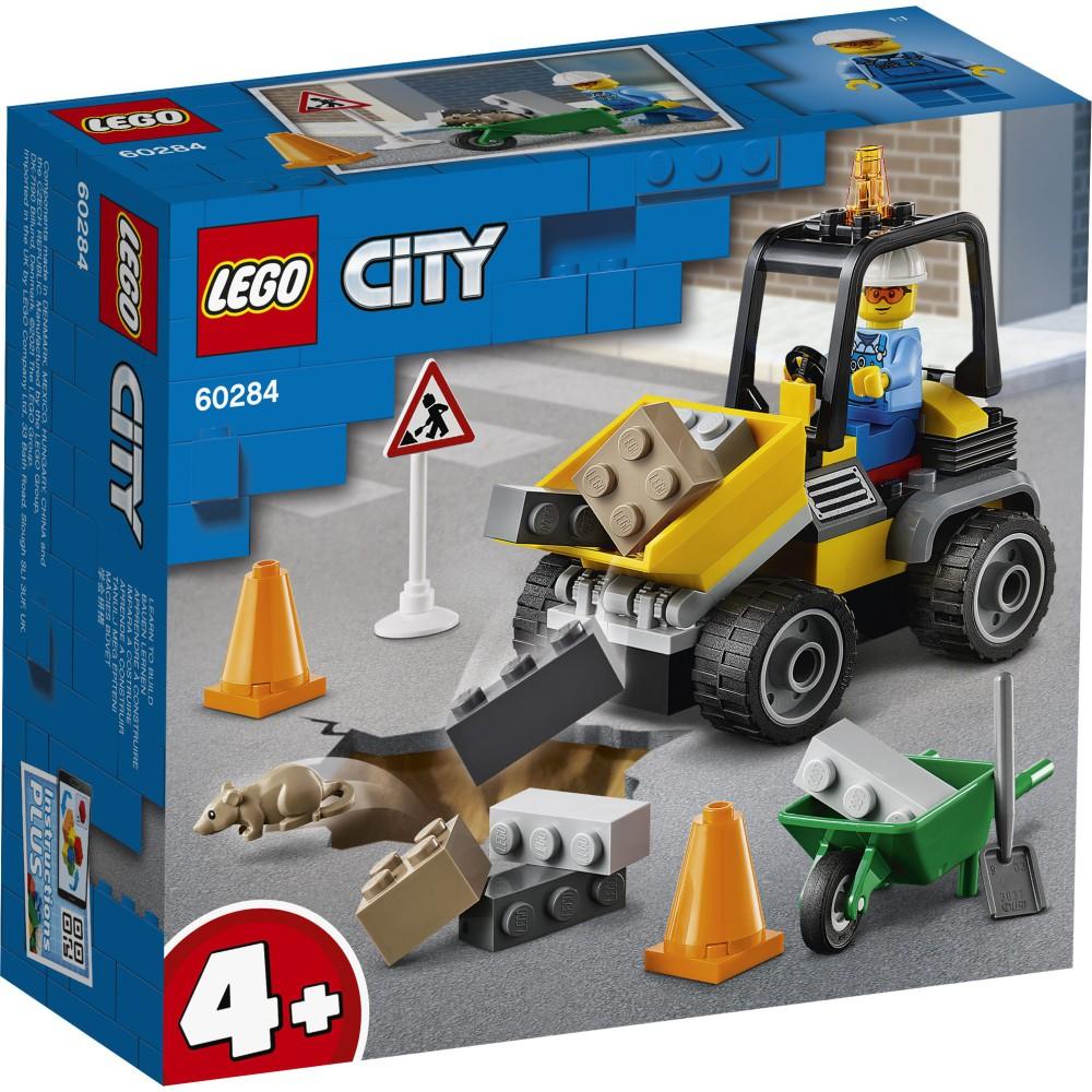 LEGO City - Pojazd do robót drogowych 60284