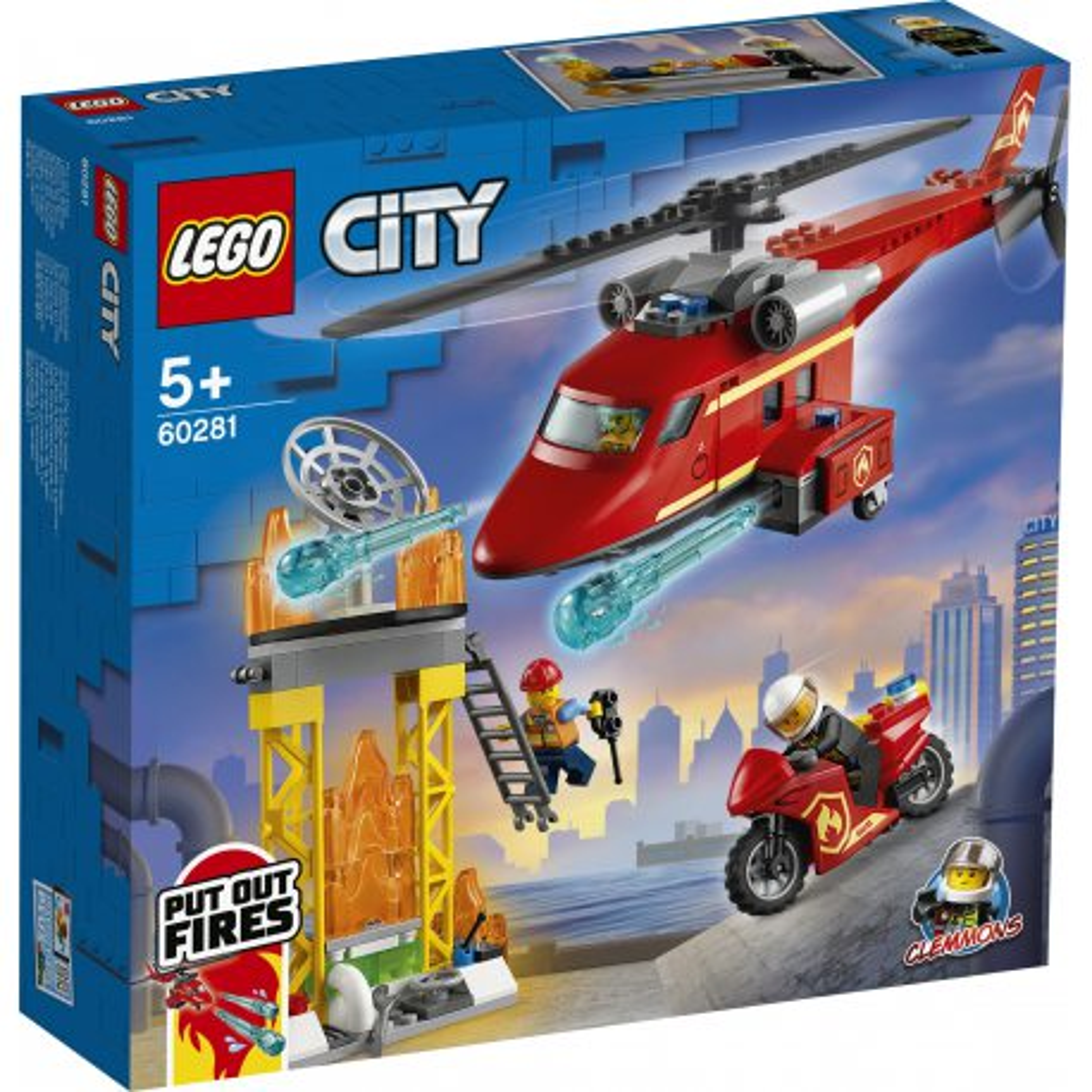 LEGO City - Strażacki helikopter ratunkowy 60281