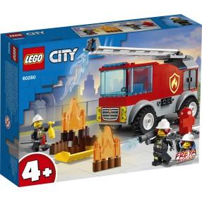 LEGO City - Wóz strażacki z drabiną 60280