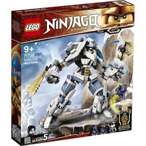 LEGO Ninjago - Starcie tytanów Mech 71738