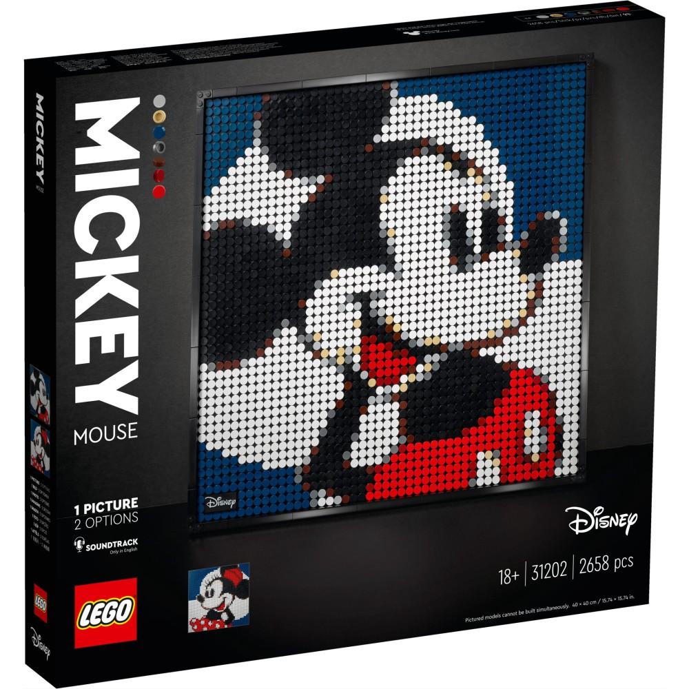 LEGO ART - Disney's Mickey Mouse 31202