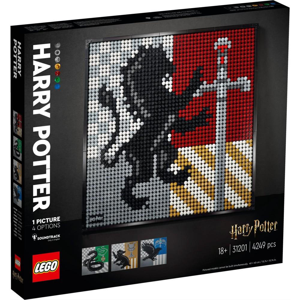 LEGO ART - Harry Potter Herby Hogwartu 31201