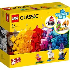 LEGO Classic - Kreatywne przezroczyste klocki 11013