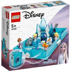 LEGO Disney Princess - Książka z przygodami Elsy i Nokka 43189