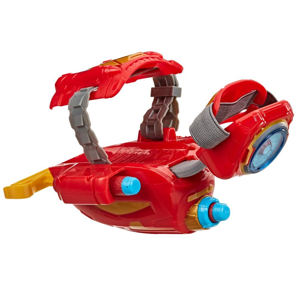 Hasbro Nerf Avengers - Iron Man Rękawica z wyrzutnią Power Moves + 3 strzałki E7376