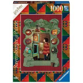 Ravensburger - Puzzle Harry Potter w rodzinie Weasleyów 1000 elem. 165162