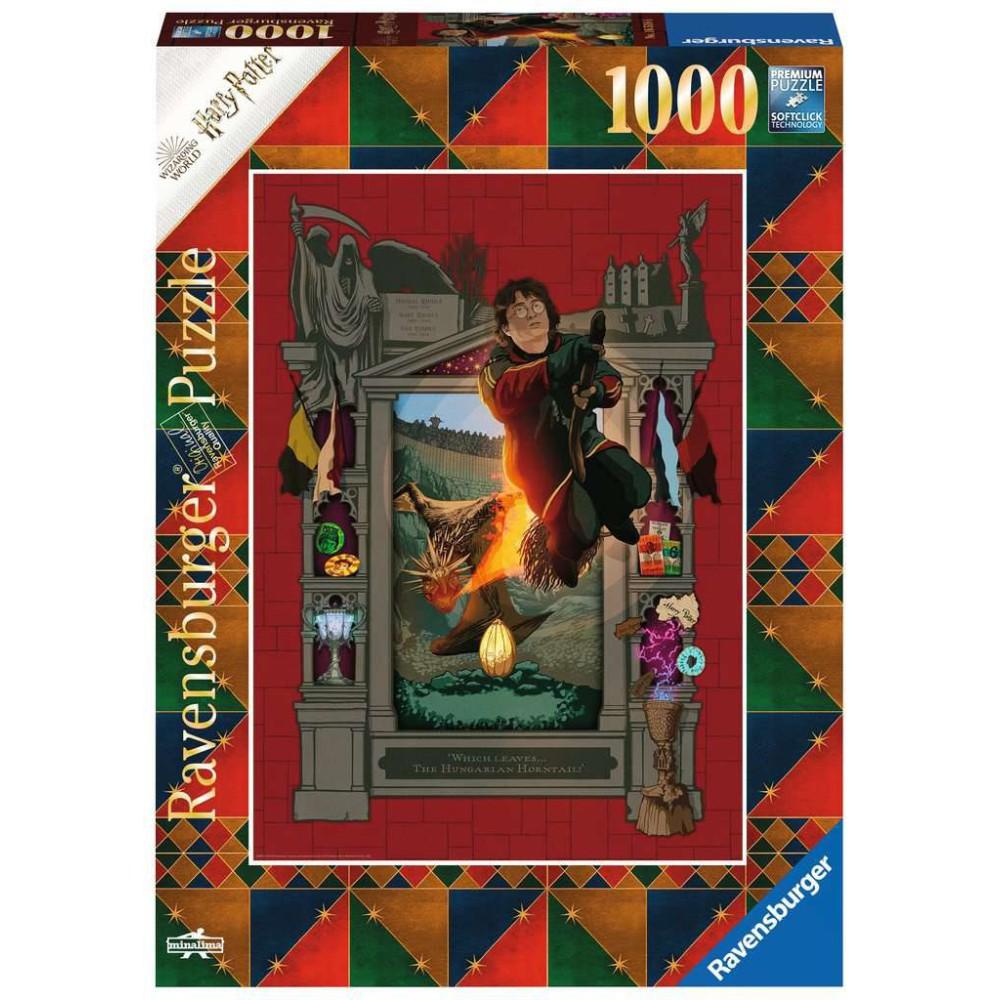 Ravensburger - Puzzle Harry Potter 4 1000 elem. 165186