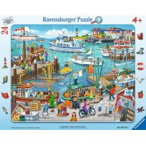 Ravensburger - Puzzle Dzień w porcie 24 elem. 061525