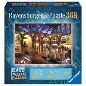 Ravensburger - Puzzle Exit Kids Muzeum historii naturalnej 368 elem. 129256