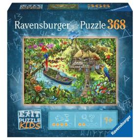 Ravensburger - Puzzle Exit Kids Wyprawa do dżungli 368 elem. 129249