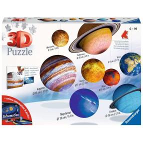 Ravensburger - Puzzle 3D Układ Planet 522 el. 116683
