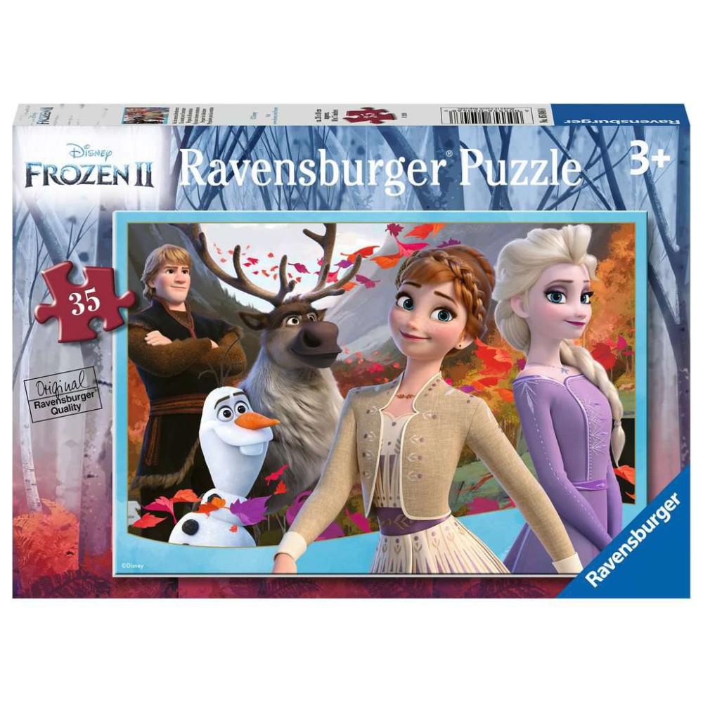 Ravensburger - Puzzle Kraina Lodu 35 elem. 050468