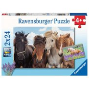 Ravensburger - Puzzle Konie 2x24 elem. 051489