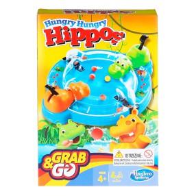 Hasbro - Gra Głodne Hipcie kieszonkowe B1001