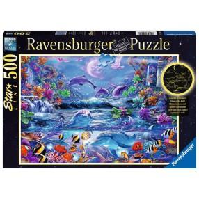 Ravensburger - Puzzle Świecące w ciemności Magiczny świat 500 elem. 150472