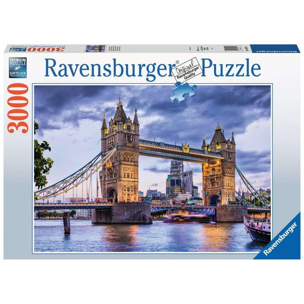 Ravensburger - Puzzle Londyn wspaniałe miasto 3000 elem. 160174